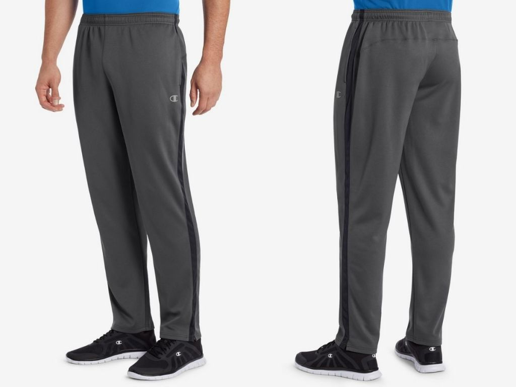 front and back view of Champion Mens Vapor Pants