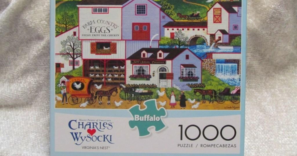 Charles Wysocki Virginia Puzzle