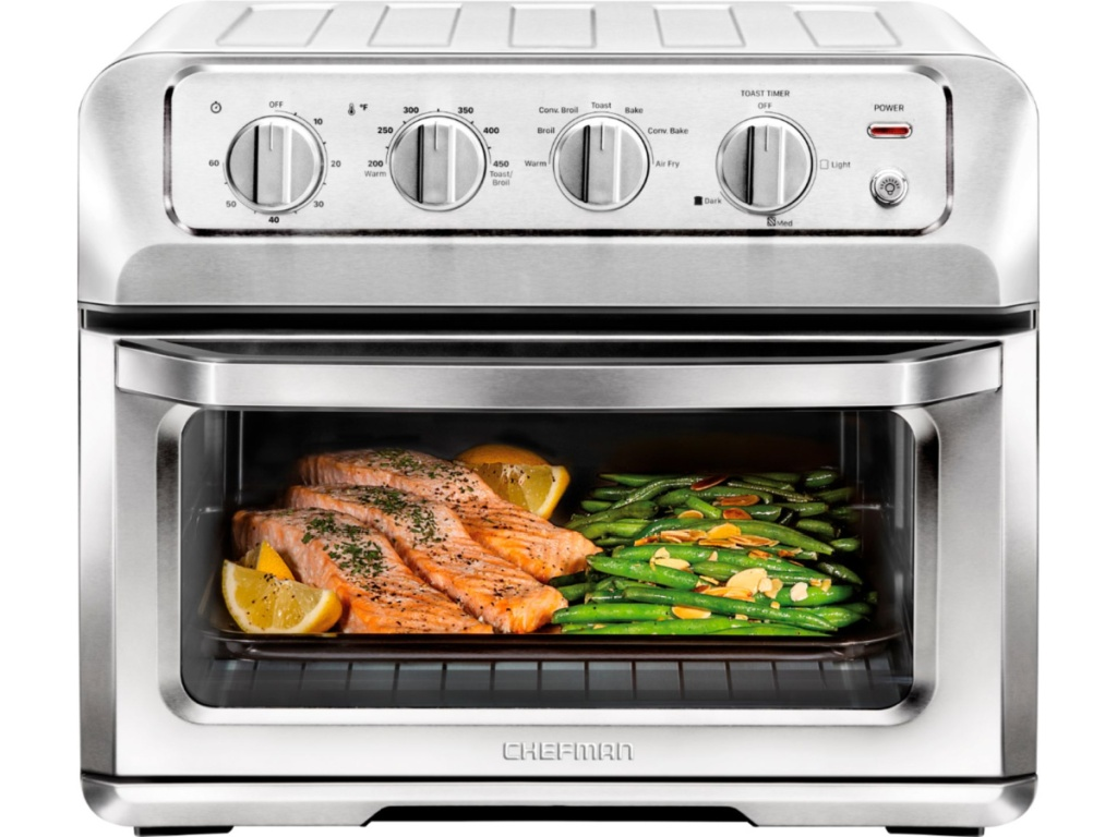 Chefman Toast-Air 6-Slice Convection Toaster Oven + Air Fryer