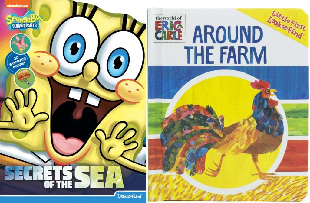 two children's books
