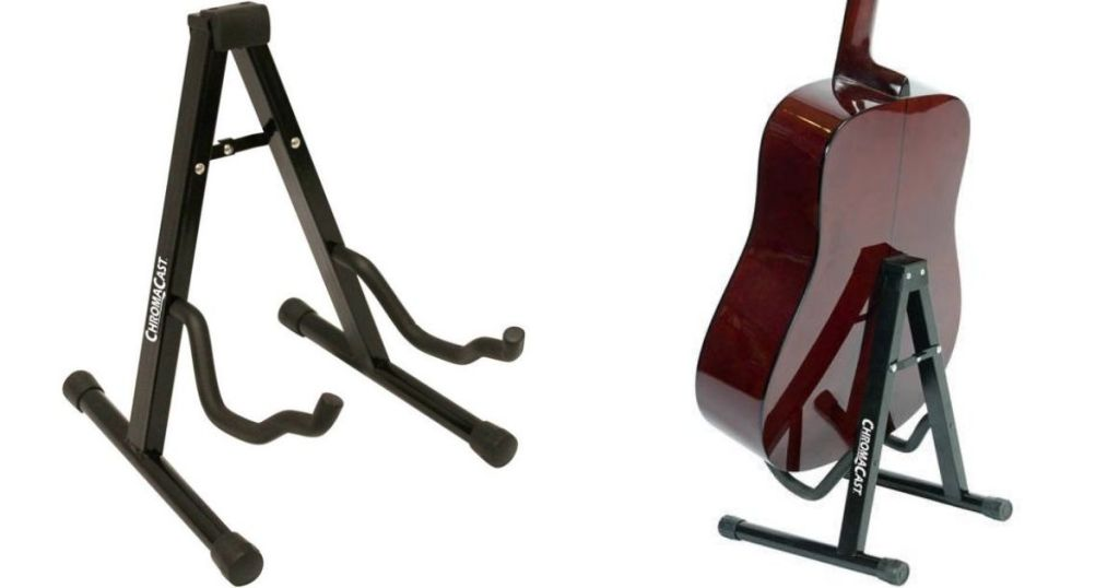 two guitar stands