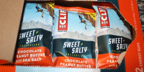 Clif Energy Bars 12-Count Only $9 on Amazon | Just 75¢ Per Bar