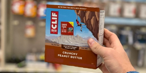 Clif Bar Protein Energy Bars 36-Pack Just $26.62 Shipped on Amazon | Only 74¢ Per Bar