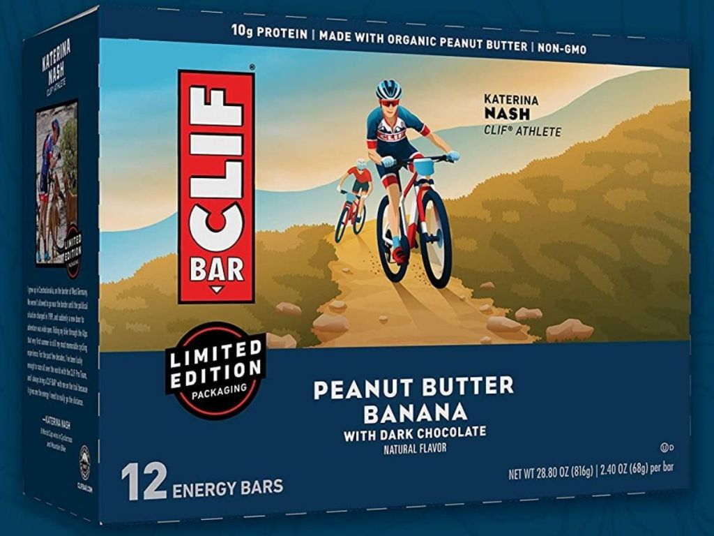 Clif Peanut Butter Banana Bars with Dark Chocolate