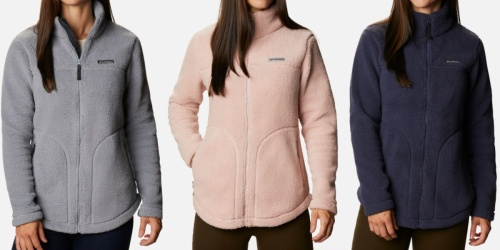 Columbia Women's Fleece Jacket Just $44.90 Shipped (Regularly $90) | Up to 65% Off Shoes & Outerwear