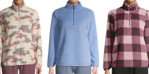 Women's Athleisure Apparel from $5 on Walmart.com | Sherpa Pullovers, Jumpsuits & More