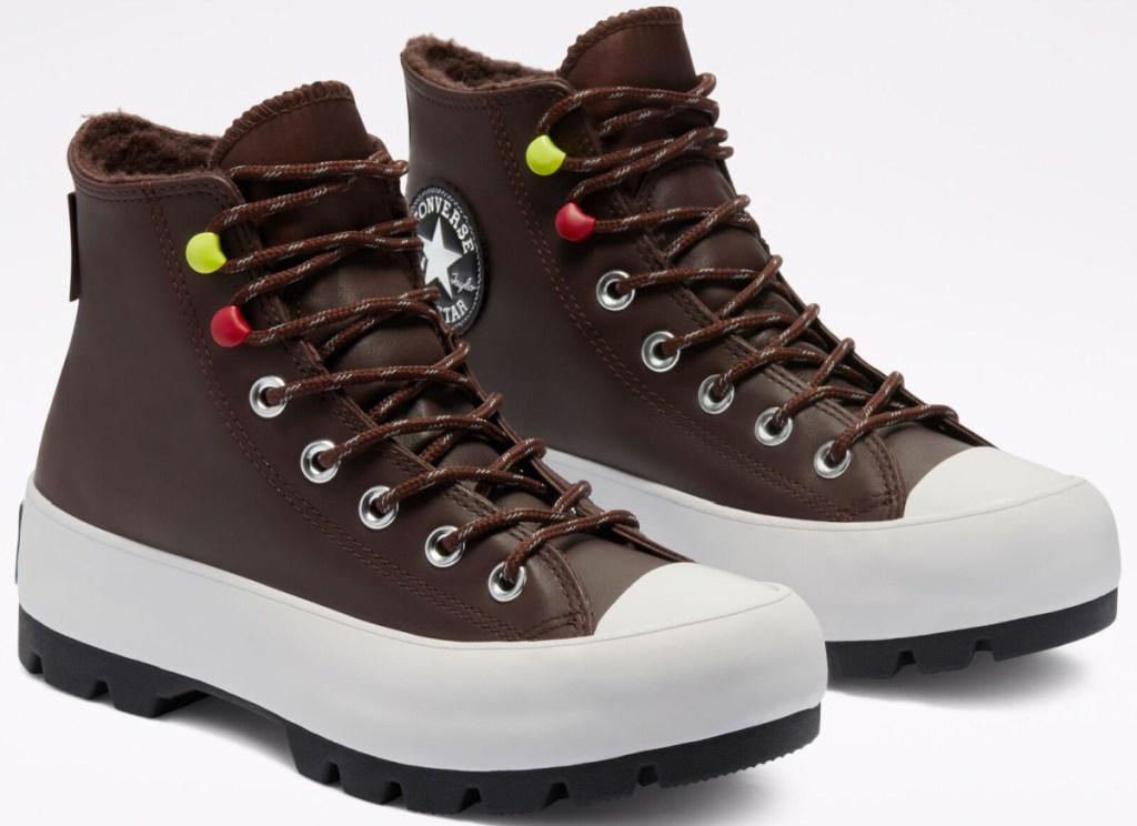 converse women's lug boots