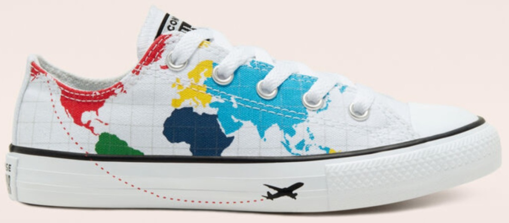 converse kids geography shoes