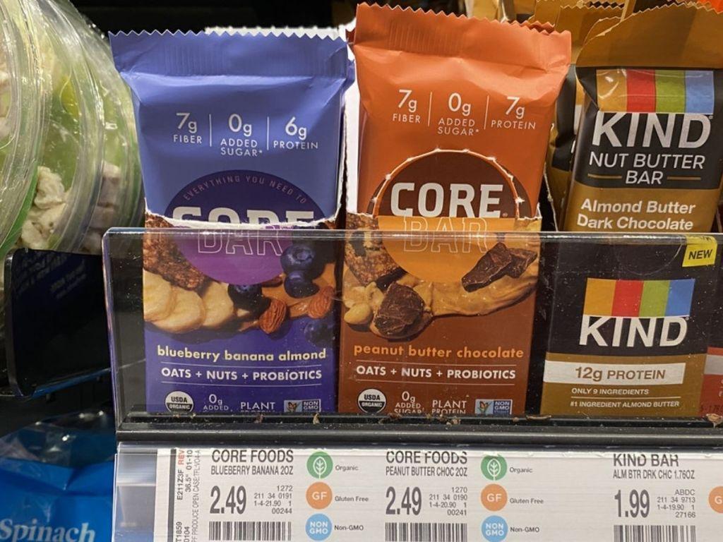 Core Organic Oat Bars