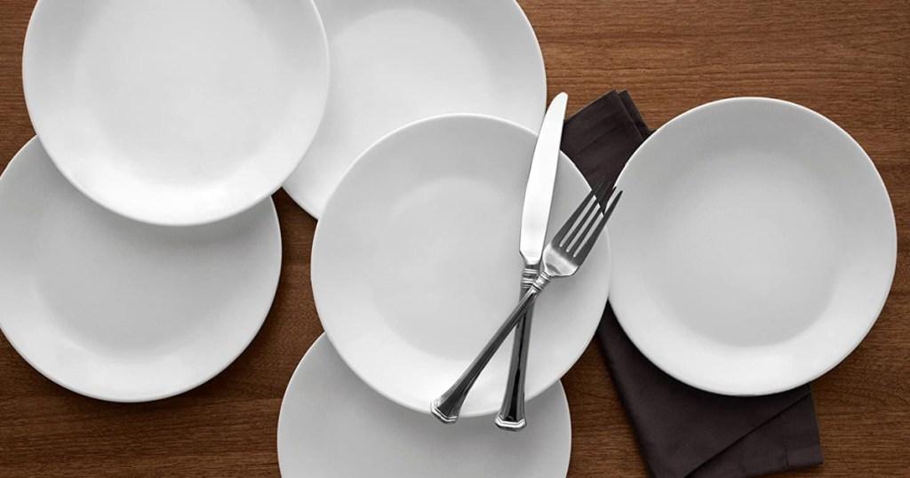 Corelle 6-Piece Lunch Plate Set