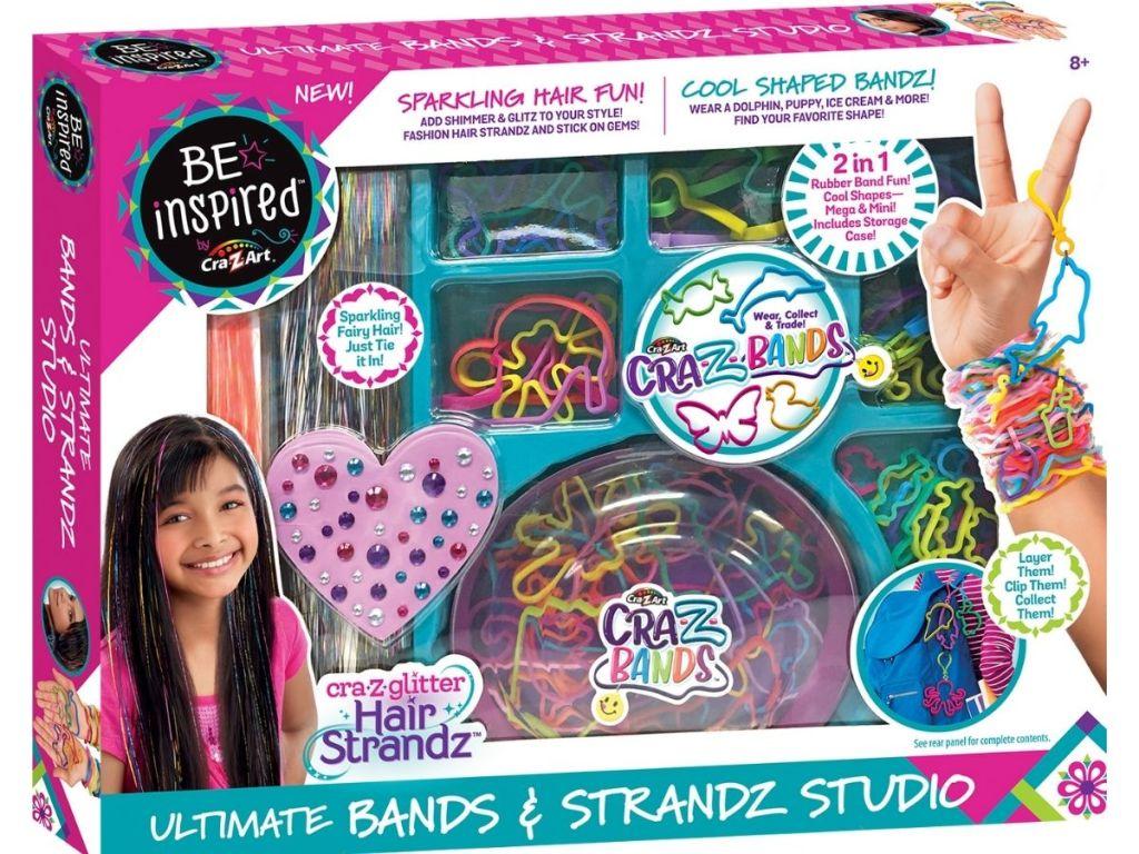 Cra-Z-Art Bands & Strandz Kit in packaging