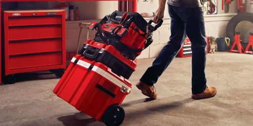 Craftsman VersaStack 30-Quart Wheeled Cooler Only $25.80 on Lowe's.com (Regularly $129)