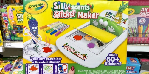 Crayola Silly Scents Sticker Maker Only $9.99 on Target.com (Regularly $20)