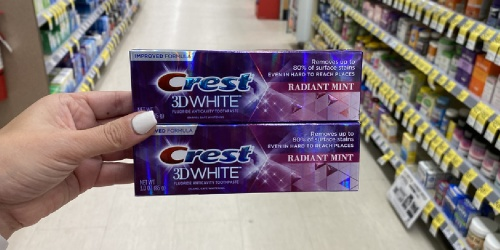 Crest Toothpaste Only 49¢ Each After Walgreens Rewards