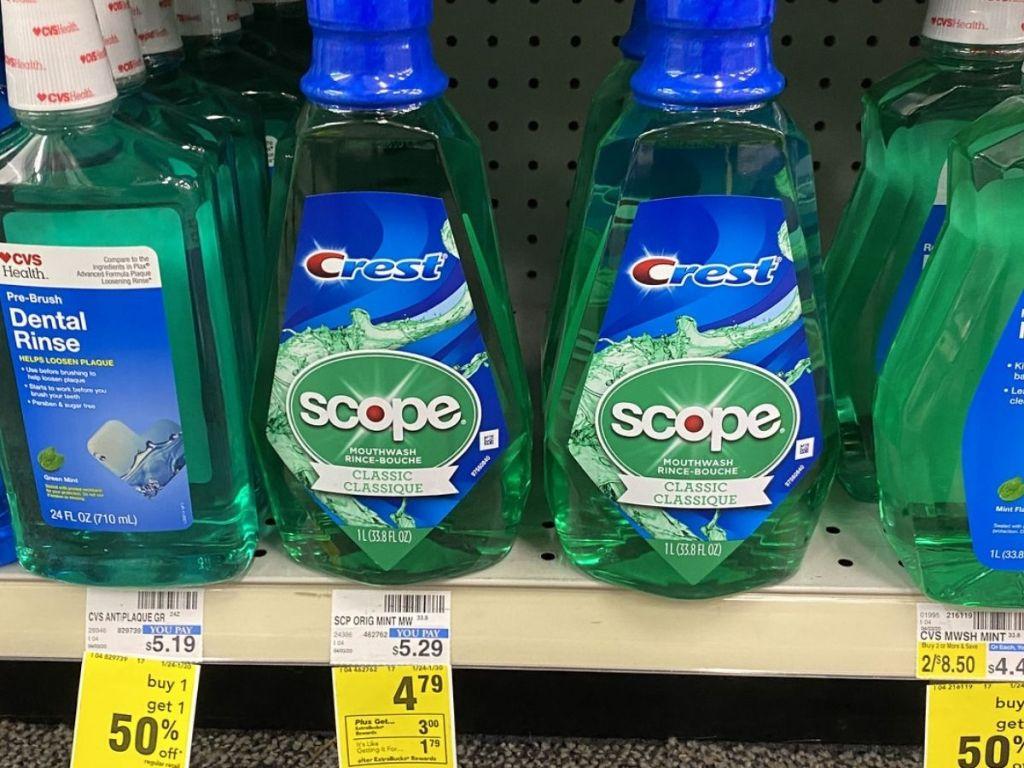 Crest Scope on store shelf