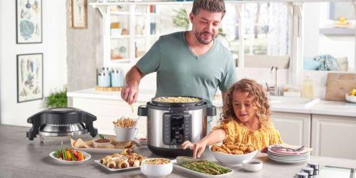 Crock-Pot Pressure Cooker w/ Air Fryer Lid Only $99.99 Shipped on BestBuy.com (Regularly $200)