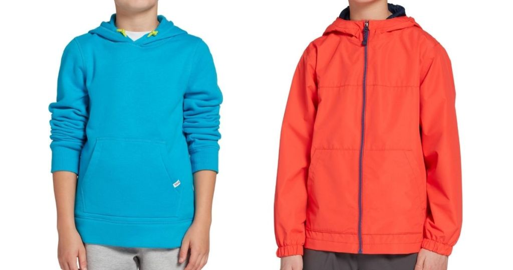 boys wearing DSG Boys Hoodie and Jacket