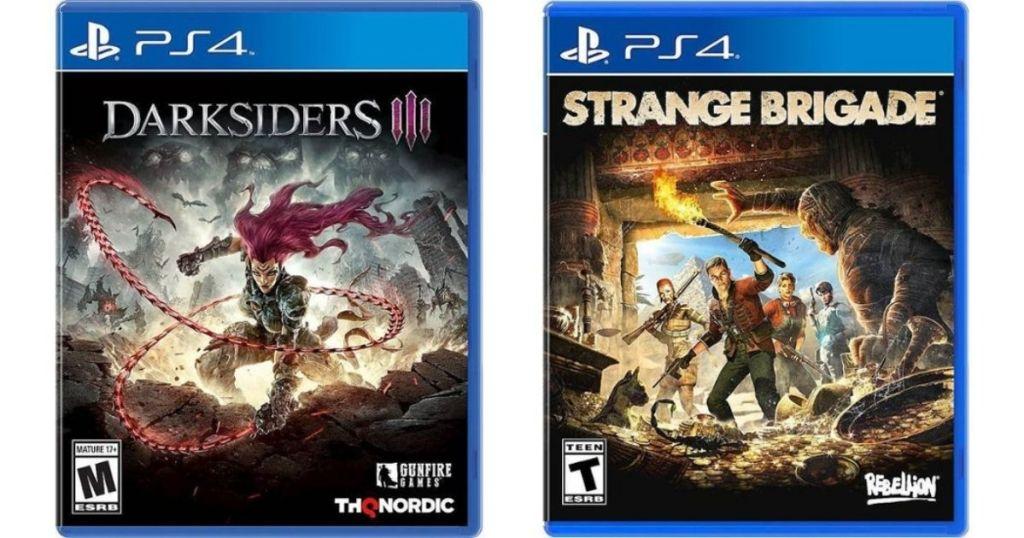 Darksiders and Strange Brigade games