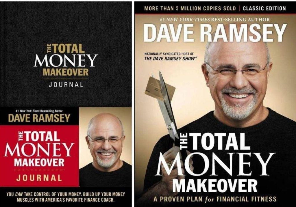 two Dave Ramsey Total Money Makeover Books