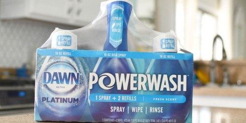 Get Sam's Club Instant Savings on the Popular Dawn Platinum Powerwash Dish Spray (We LOVE This Stuff!)