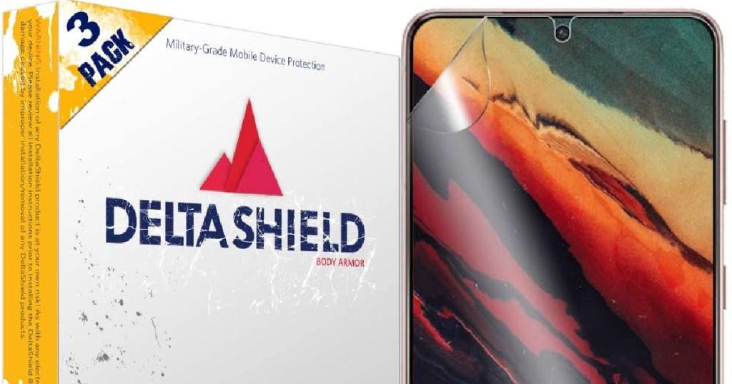 DeltaShield Screen Protector 3 Packs