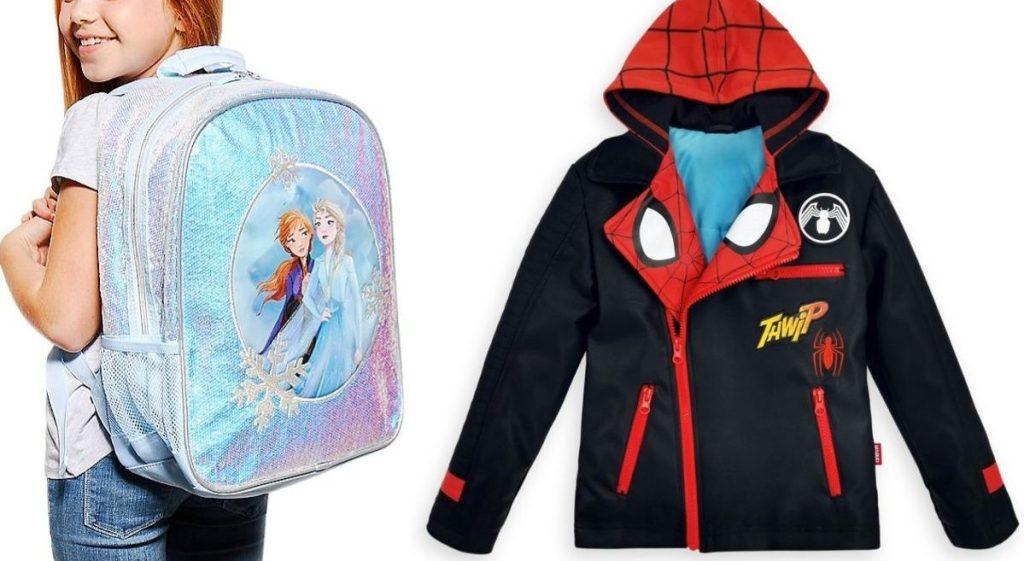 Disney Backpack and jacket