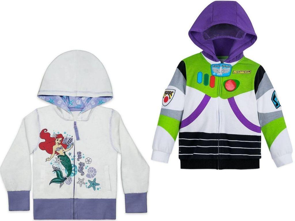 Two Disney Kids Hoodies