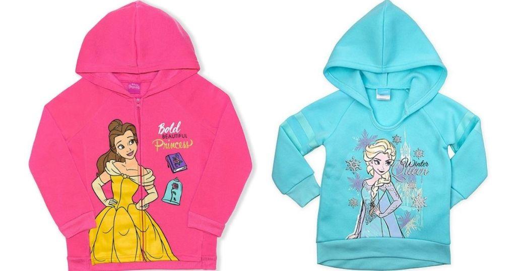 two Disney Kids Sweatshirts