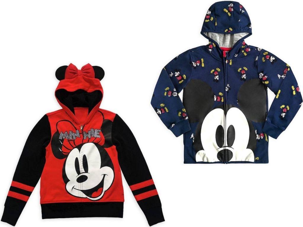 Disney Minnie and Mickey Kids Hoodies