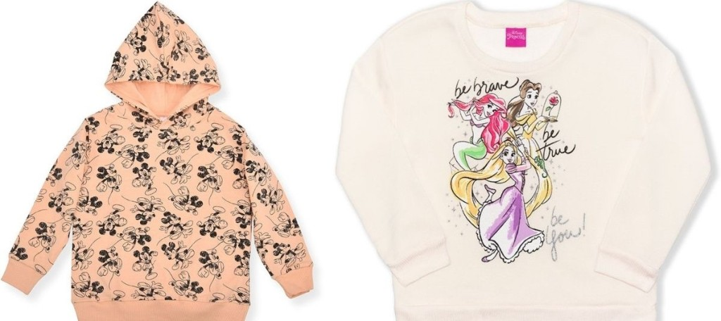 two Disney Sweatshirts