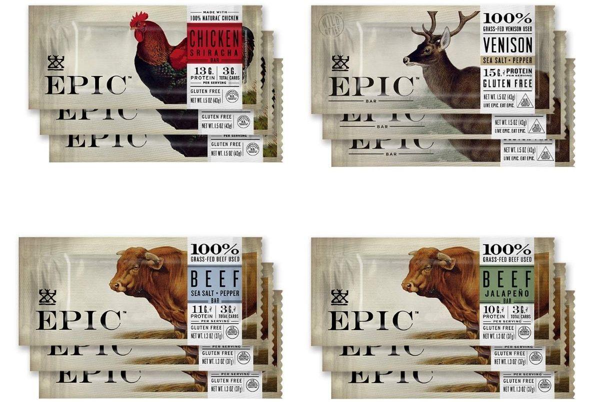 EPIC Bars Variety 12-Pack