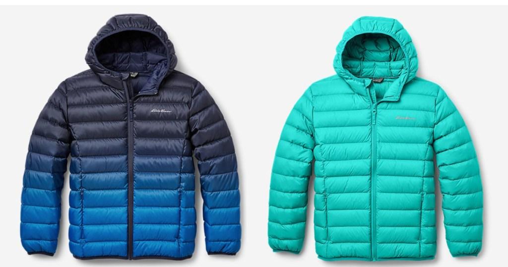 2 kids cirruslite eddie bauer jackets