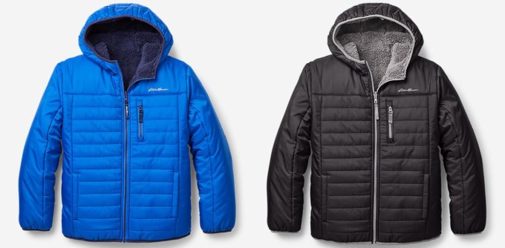 2 eddie bauer cirruslite boys jackets