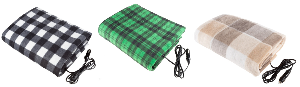 electric plaid blankets