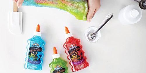 Elmer's Slime Starter Kit Only $4.99 on Amazon (Regularly $7) | Includes 3 Bottles of Glitter Glue