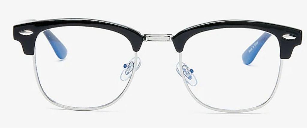Express Blue Light Blocker Glasses in black