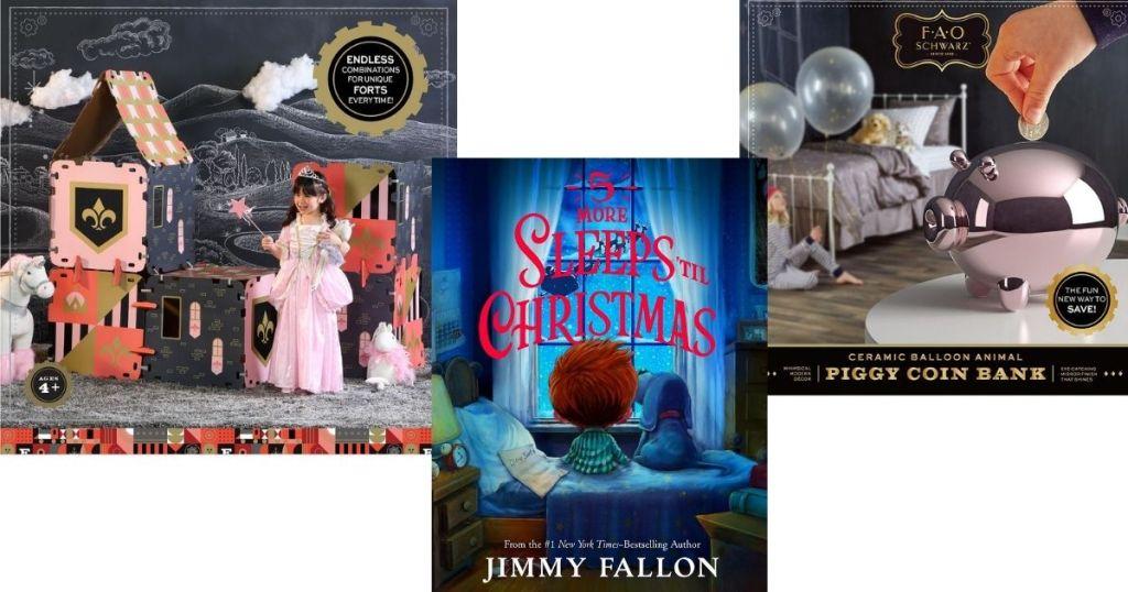FAO Schwarz Toys and a Christmas Book