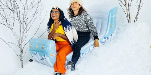 Spend Winter Snow Days on This Giant Inflatable Sleigh