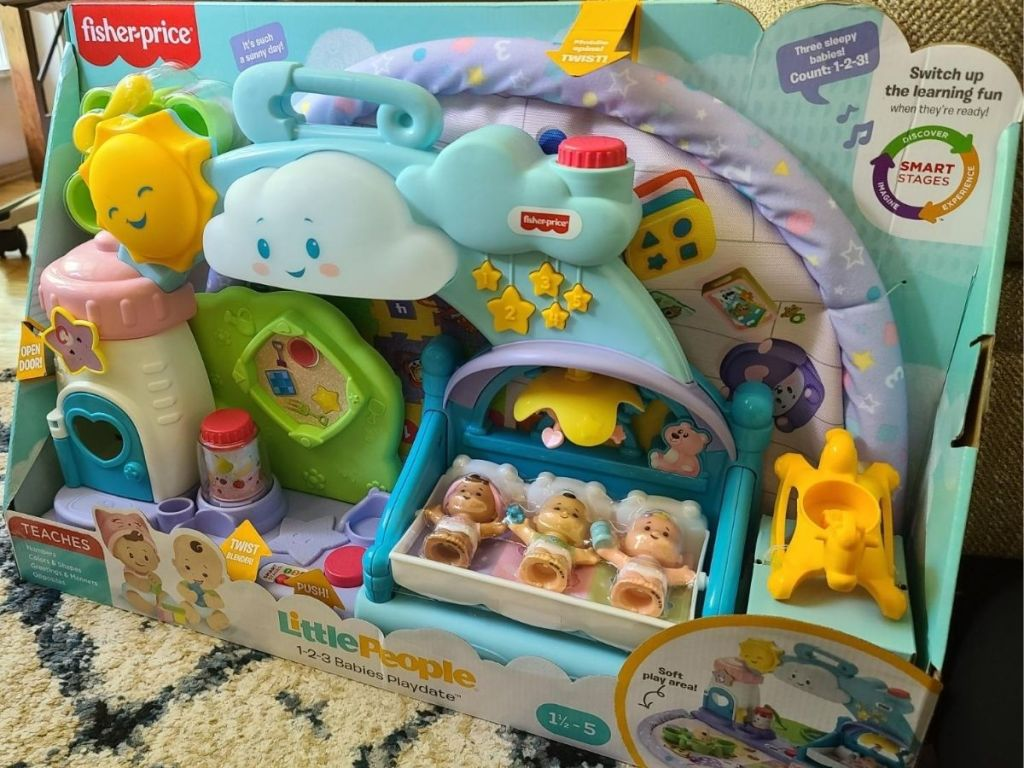 Fisher Price Little People 1-2-3 Babies Playdate