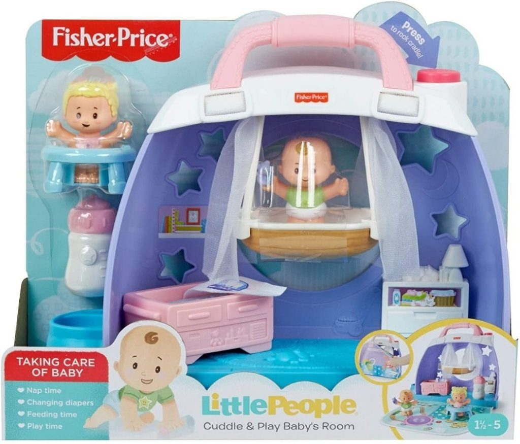 Fisher Price Little People Cuddle Play Babys Room