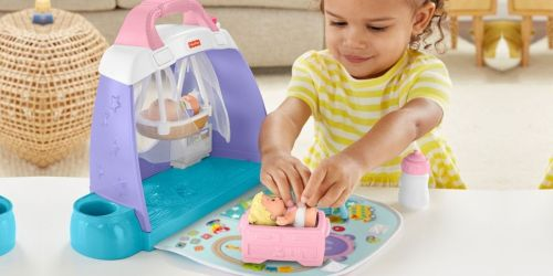 Fisher-Price Little People Cuddle & Play Nursery Play Set Only $9.99 on Amazon (Regularly $20)