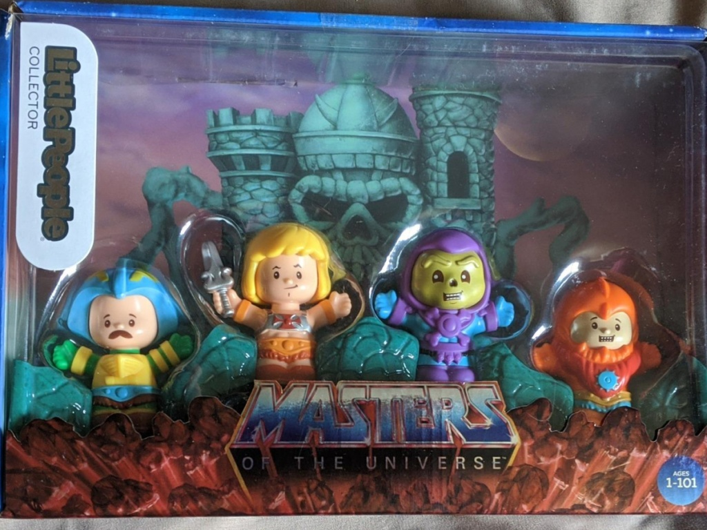 fisher price little people he-man collector's set