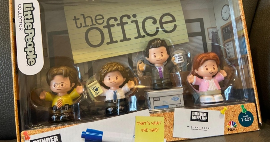 fisher price little people the office collector's set