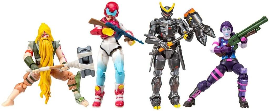Fortnite Squad Mode Core Figure 4 Figure Pack