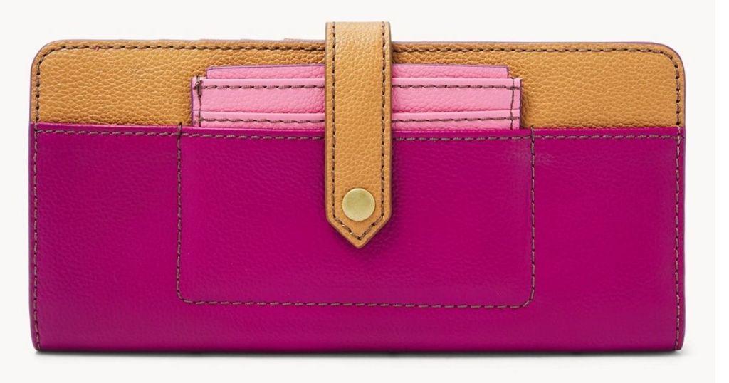 Fossil Pink Women's Wallet