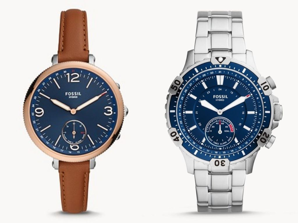 Fossil Women's and Men's Smartwatches