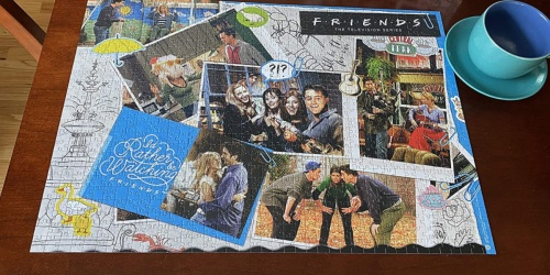 Friends 1,000-Piece Puzzles Only $9.99 on Zulily.com (Regularly $25)