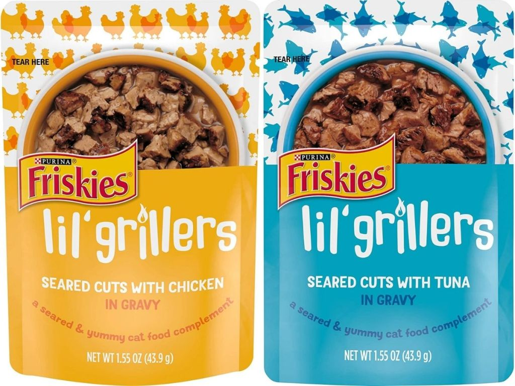 Friskies Lil Grillers Cat Food