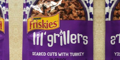 Purina Friskies Lil' Grillers Pouches 16-Pack Only $7.78 Shipped on Amazon (Regularly $16)