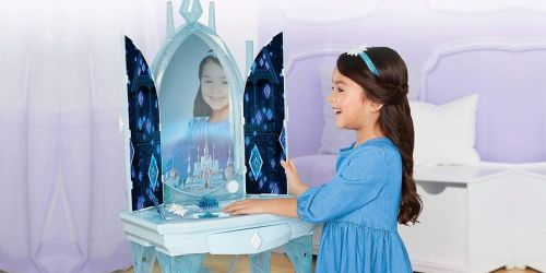 Disney Frozen 2 Elsa's Enchanted Ice Vanity Only $34.99 on Target.com (Regularly $70)